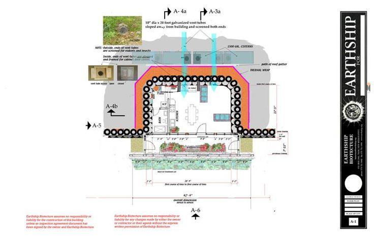 Earthship Home Floor Plans: Pinterest