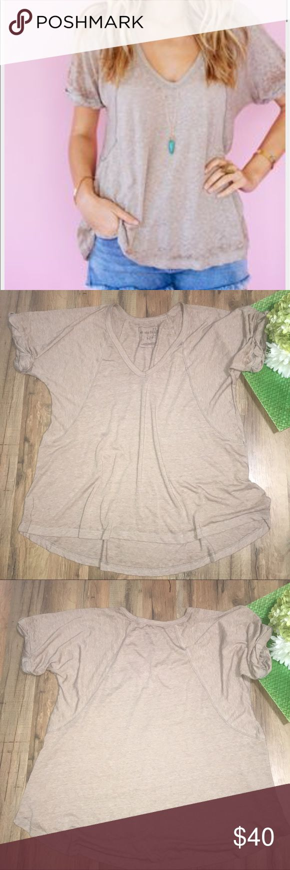 """WE THE FREE driftwood free fallin slouchy tee Length: 24/29"""" 