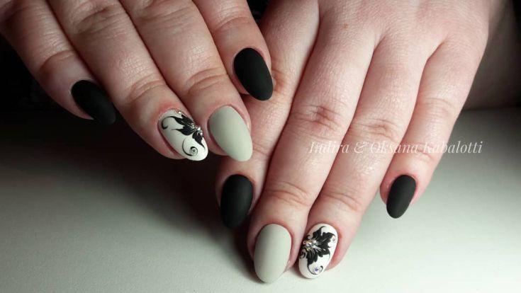 Die über 100 oval geformten Nägel wurden 2018 entworfen – Art Design Nails