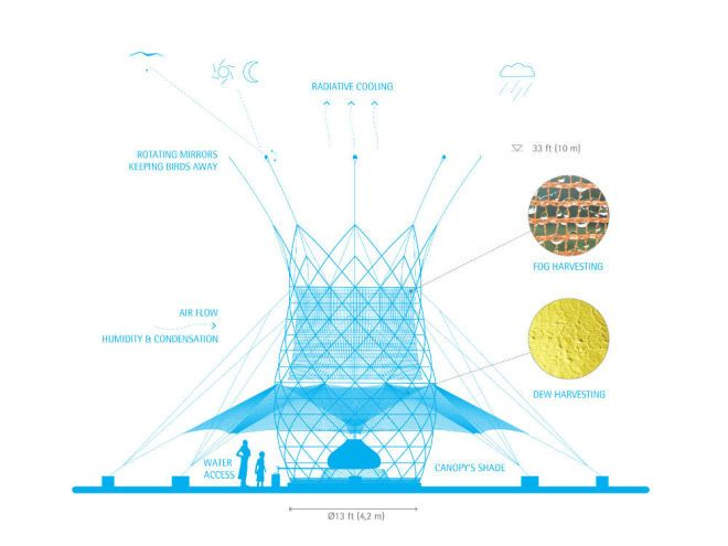 Warka Water Tower Design! Inspiring solution to a world wide problem!