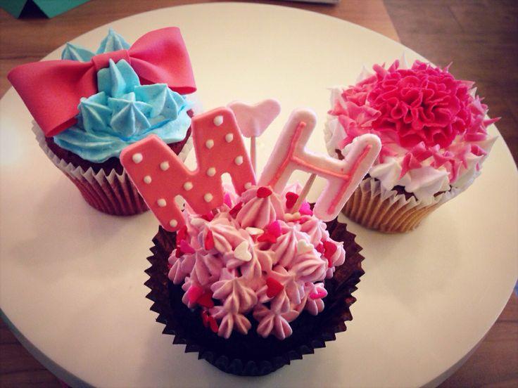 hand made cupcake