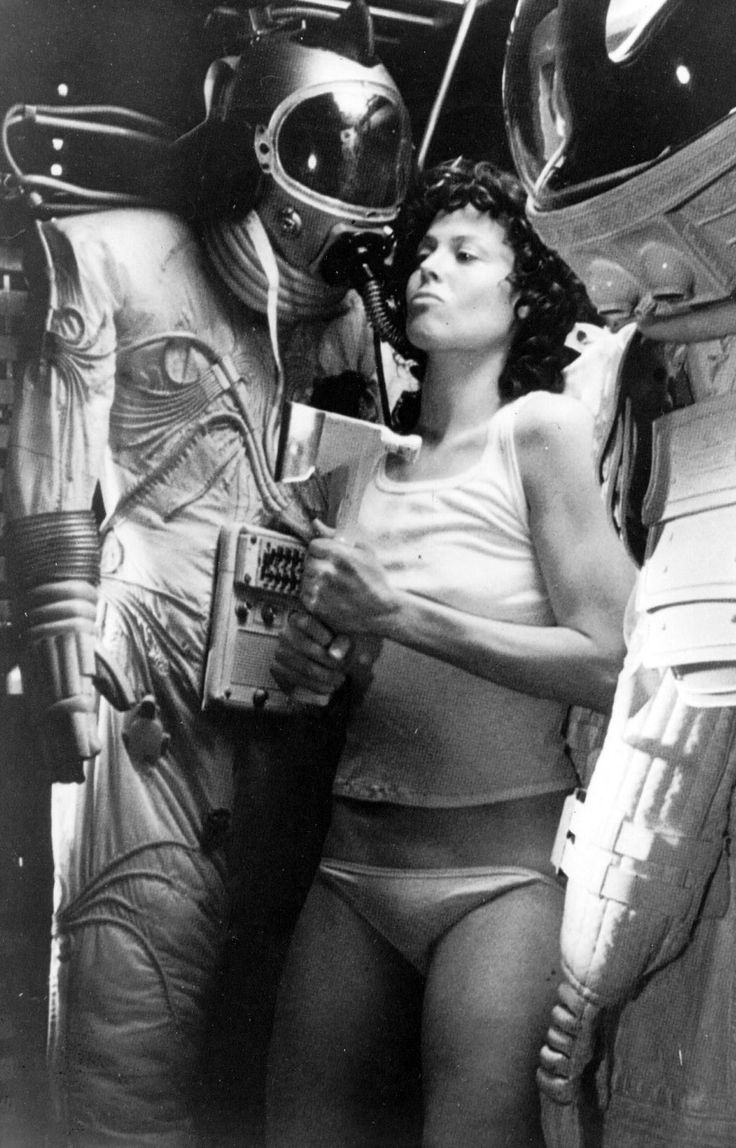 Sigourney Weaver in Alien (1979).