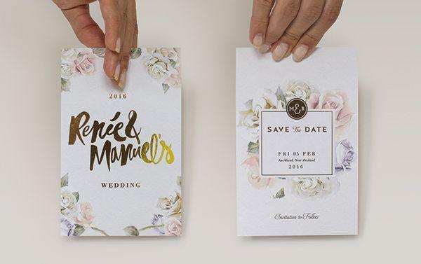 M&R Wedding Stationery on Behance