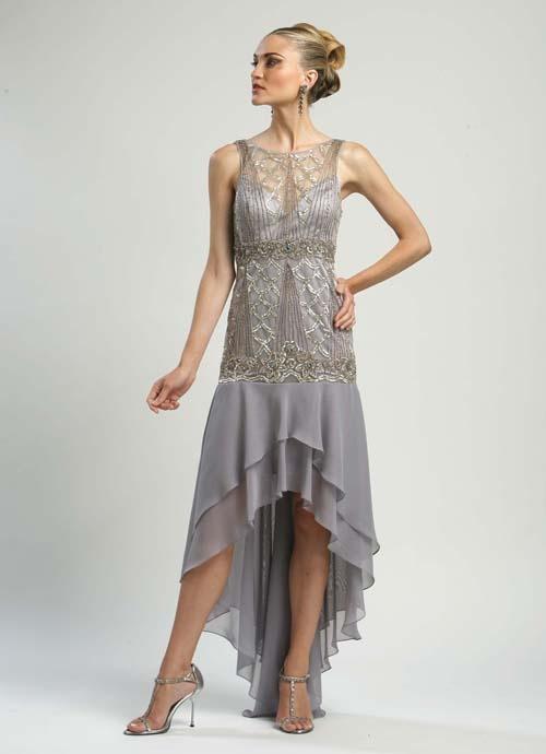 Vintage gatsby prom dress
