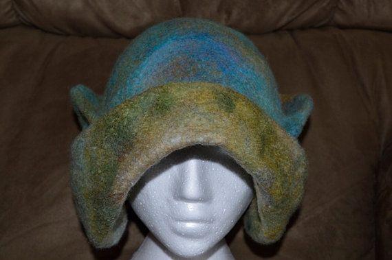 Most unusual earmuff winter wool hat by FeltTheFluff on Etsy, $75.00
