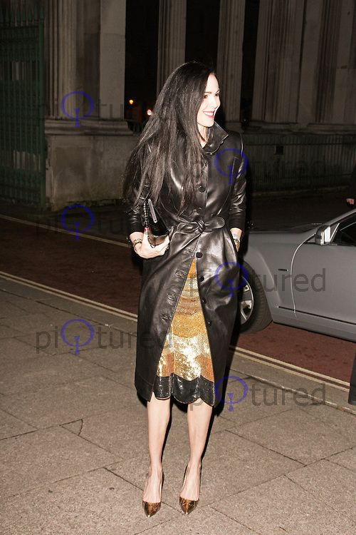 L'Wren Scott, Global Fund and British Council Party, Apsley House, London UK, 16 September 2013, (Photo by Brett D. Cove)