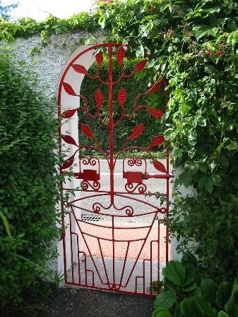 beautiful garden gate- Weston House Ireland