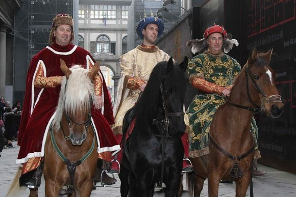 The Procession of the Magi: from Renaissance to the present day Florence  #cavalcatadeimagi