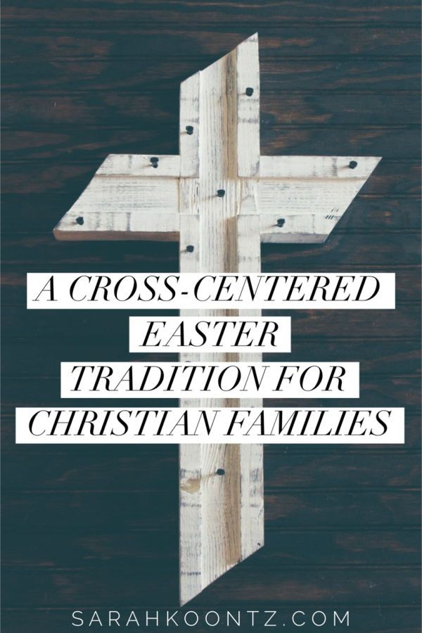 Invite the power of the cross into your home with this new Easter tradition. It is my hope that this new Easter tradition teaches our children the importance of surrender and helps them better understand why we celebrate Easter. I look forward to establishing this new family tradition and invite you to join me.   Christian Parenting   Inspiration   Lent   Resurrection