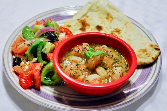 ... ! | Balanced Meals | Pinterest | Greek Shrimp, Greek Salad and Shrimp