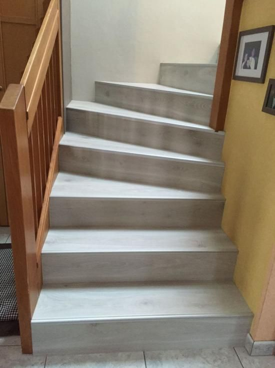 Maytop tiptop habitat habillage d escalier r novation for Habillage fenetre pvc renovation