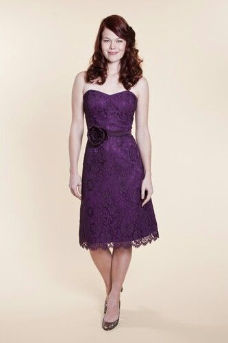 Purple Lace Bridesmaid Dress Wedding I M Going To Have Board Formerly Named Will Never Dresses