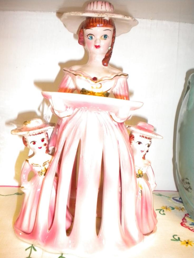 17 Best Images About Vintage Napkin Ladies On Pinterest