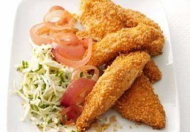 Meksika Usulü Çıtır Tavuk