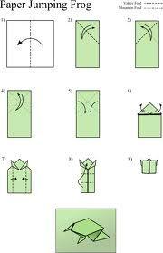 Amazingly Easy Origami Frog - http://www.ikuzoorigami.com/amazingly-easy-origami-frog/