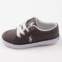 ПОЛО RL парусиновые туфли большой мальчик холст обувь 6-16 лет 18--23.5 см подлинной специальные