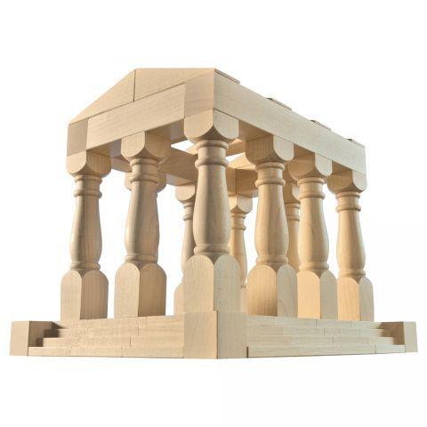 Haba Antiquity World Architecture Blocks - Homeschool - Ancient Greece unit - #oompatoys #habausa
