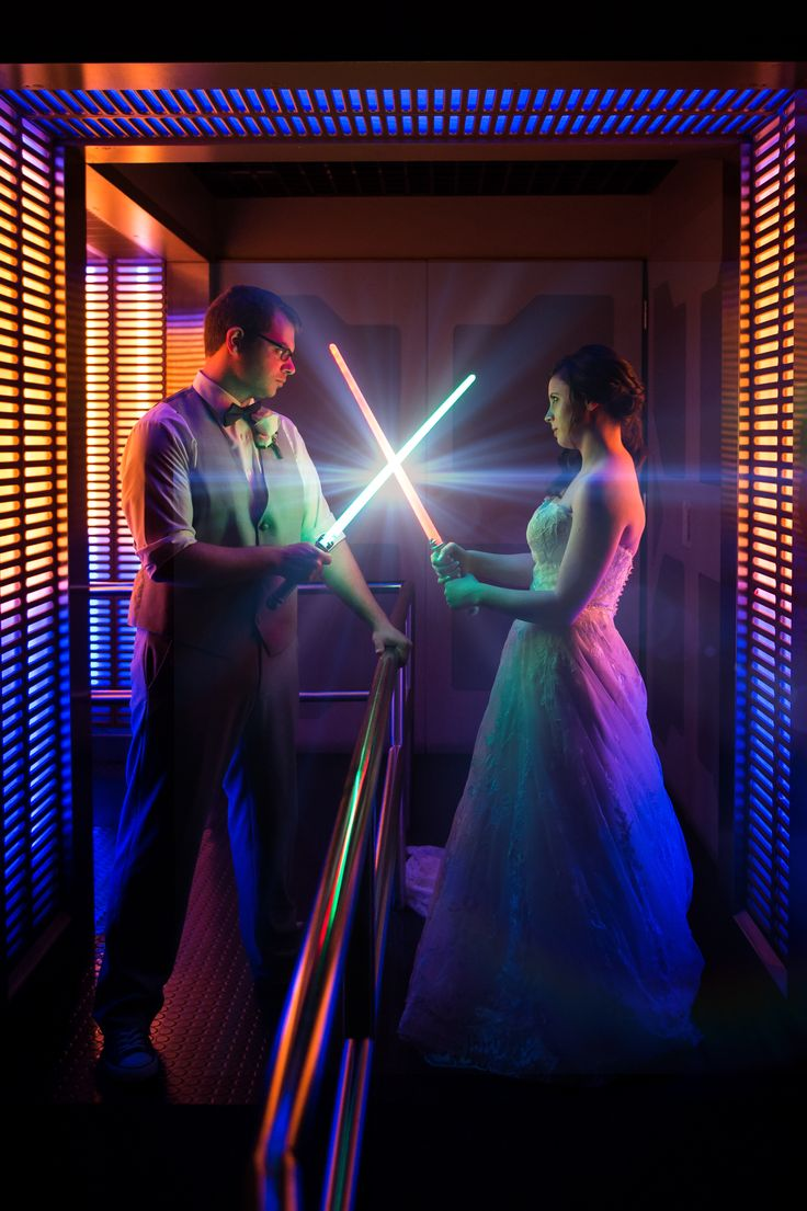 A Star Wars lovers dream. Photo: Jacob, Disney Fine Art Photography