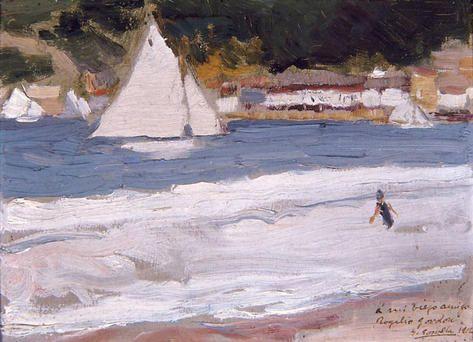 Joaquín Sorolla - Playa de San Sebastián, 1912 - San Telmo Museoa, San Sebastián