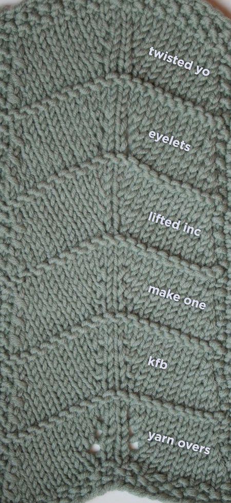 Twisted Yarn Overs