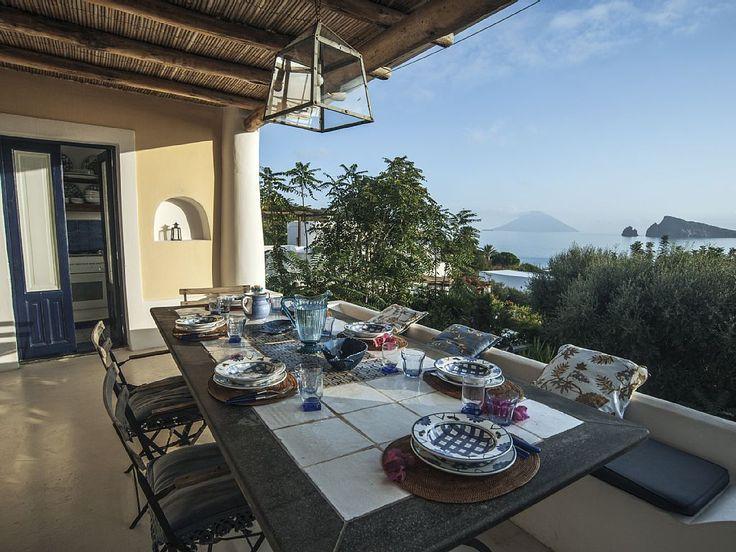 Villa sul mare a Panarea, Isole #Eolie, #Sicilia