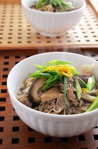 牛きのこ汁うどん by 調理師/料理家 槙 かおる | レシピサイト「Nadia ...