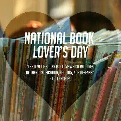 The love of books is a love which requires neither justification, apology, nor defense. ~ J.A. Langford