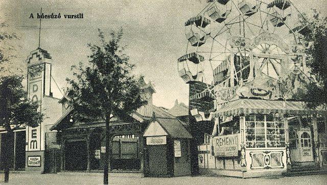 Budapest anno: több, mint nosztalgia...: Ilyen volt... a Vidám Park (1. rész) - A pesti Vurstli, 1937-ben