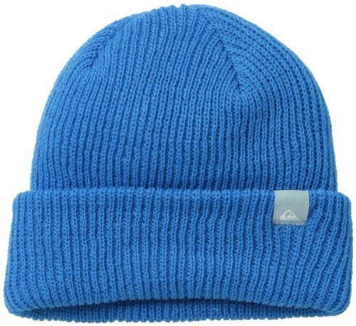 $15, Blue Beanie: Quiksilver Snow Timber Beanie. Sold by Amazon.com. Click for more info: https://lookastic.com/men/shop_items/20531/redirect