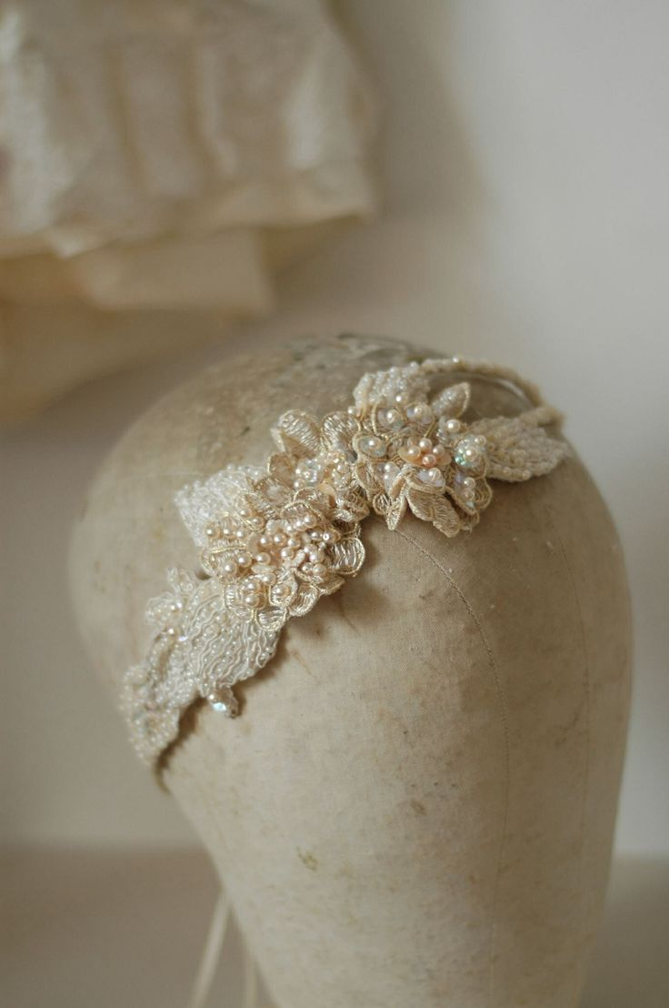 couture bridal headpiece custom made by www.parantparant.se