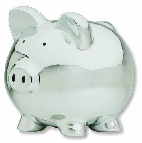 Carters Smiley Happy Piggy Bank, Silver | Collectibles, Banks, Registers & Vending, Still, Piggy Banks | eBay!