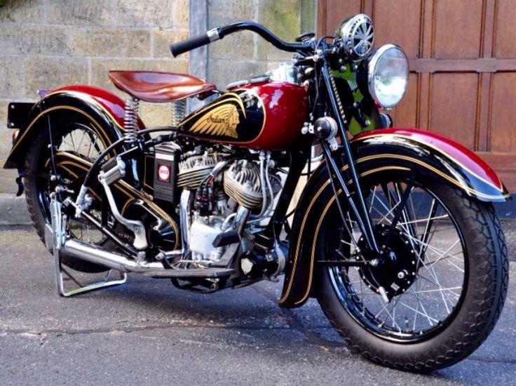 """Sweetheart of a Scoot"" -'38 Indian Scout"