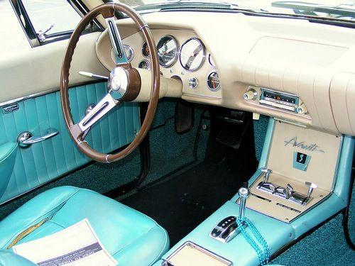 interior shot of an avanti swanky cars cars cars pinterest interiors. Black Bedroom Furniture Sets. Home Design Ideas
