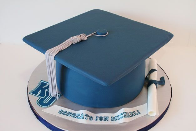 Graduation Cap Cake Ideas | Graduation Cakes NJ -Cap and Diploma Custom Cakes