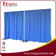 8 Ft High x 20 Ft Wide telescopic pipe drape kits innovative systems pipe and drape for wedding