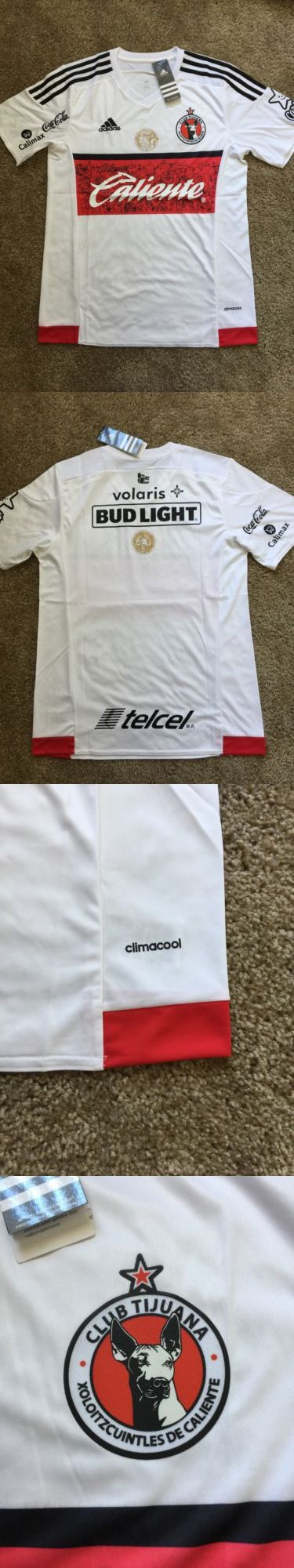 Men 123490: New Club Tijuana White Home Soccer Jersey Size Xl BUY IT NOW ONLY: $40.0
