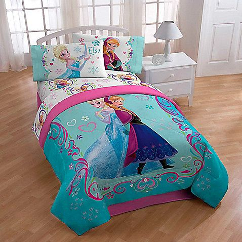 Disney® Frozen Springtime Twin/Full Floral Comforter