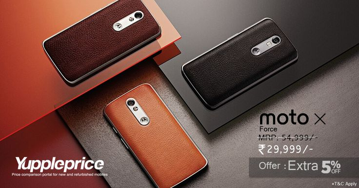 Buy #Motorola MotoX Force 32GB 4G online in Rs.29999/- only.