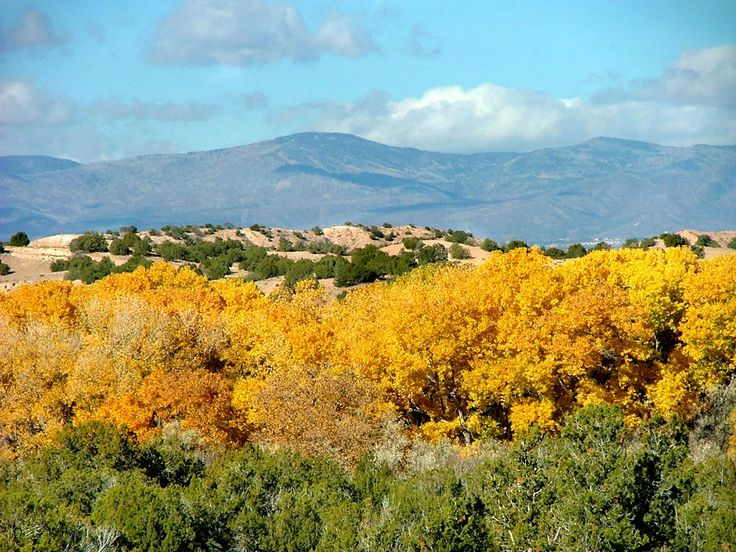 Santa Fe, New Mexico (I actually lived in Espanola, NM about 30 miles north of Sante Fe). Beautiful