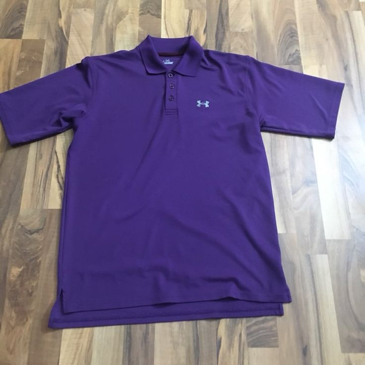 Men's Under Armour Medium Polo Shirt - Mercari: BUY & SELL THINGS YOU LOVE