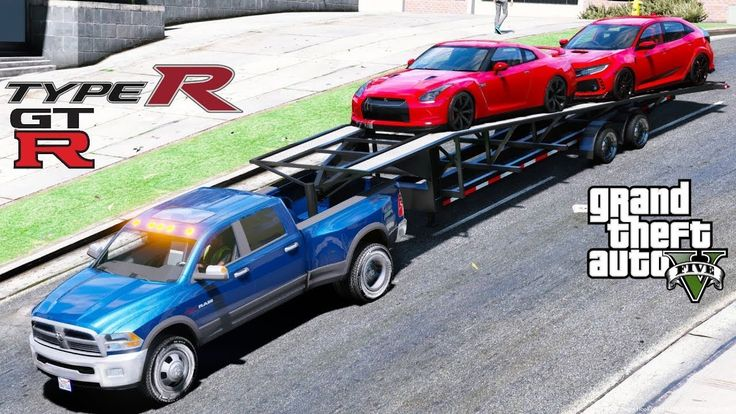 Latest Dodge RAM – GTA 5 REAL LIFE MOD #50 – Right Hand Drive Nissan GTR & Civic Type R Hauled By Dodge Ram 3500 – 85633 Sasabe AZ July…