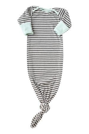 Soft Mint & Grey Stripes Sleeper