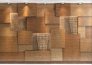 Стеновая панель с резьбой INT-036-1