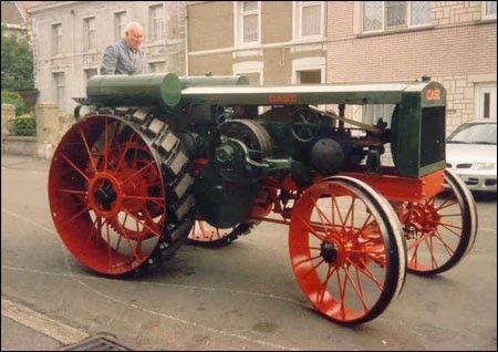 Case ancien tracteur