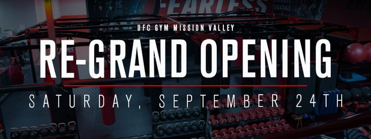 UFC GYM Mission Valley has transformed our look and we are ready to help you transform yours. Join us on Saturday, September 24 from 9:00 AM- 6:00 PM to check out our newly refreshed and enhanced gym! We have an exciting schedule of events planned and special guest instructor, two-time UFC Welterweight Champion and UFC Hall of Fame Inductee, Matt Hughes will be attending the event. At our Re-Grand opening event you will have the chance to try many of UFC GYM's exciting training offerings…