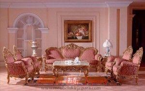 Memilih set kursi tamu mewah adalah pilihan yang tepat karena set kursi tamu ini dibuat dengan bahan-bahan yang mempunyai kualitas tinggi. Dengan set kursi tamu ini ruangan anda akan menawan dan saat menjamu tamu anda akan lebih mudah. Semua produk furniture kami berkualitas tinggi. Jika anda berminat dengan set kursi tamu mewah ini silahkan kunjungi toko mebel ukir jepara yang menyediakan berbagai furniture berkualitas semoga anda puas dengan furniture yang kami sediakan.