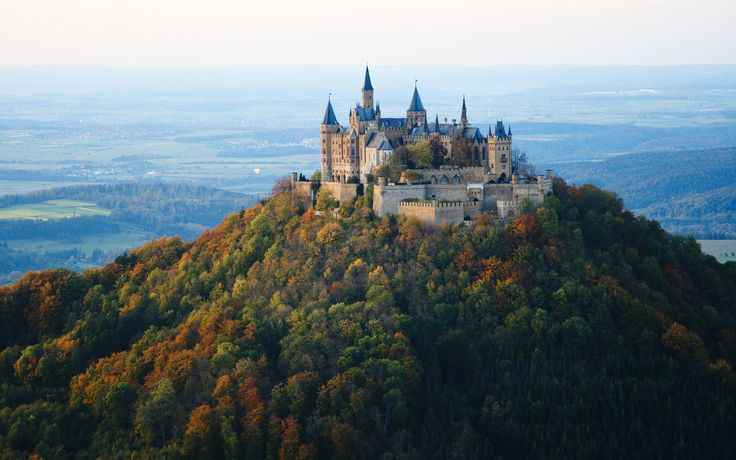 Hohenzollern: One of Germany's most visited castles, this neo-Gothic hilltop abode was rebuilt three times over the course of eight centuries.