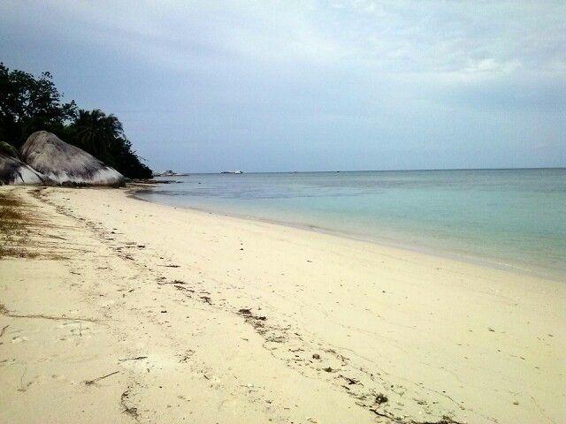 Kepayang Beach, Belitung. Calm and peaceful...