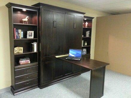 diy murphy bed desk plans kit hardware horizontal