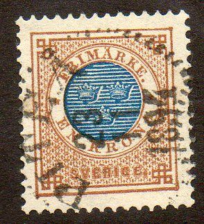 Sweden Scott 49 Used - bidStart (item 29954451 in Stamps, Europe, Sweden)